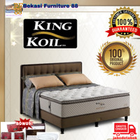 1 Set Kasur KING KOIL Springbed ( World Endorsed ) Full Set