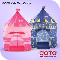 Goto Kids Tent Castle Camping Tenda Kemah Kastil Mainan Anak