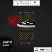 Vans Old Skool Black White EVB Original 100%