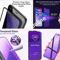 TEMPER GLASS ANTI BLUE LIGHT VIVO V20 FULL COVER -SIP