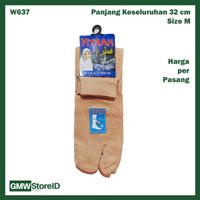 GROSIR Kaos Kaki Wanita Women Middle Socks Medium Jempol Antislip W637