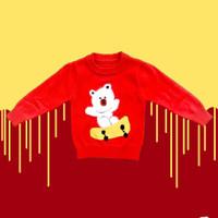 Baju Sweater Rajut Atasan Anak Laki Laki Halus Import Real Picture 7