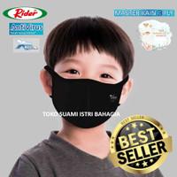 Masker Kain Anak Anak Rider Anti Virus 3 Tiga Lapis Triple Protection