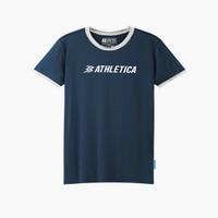 Athletica Official Shop - Zavod Ringertee Navy   T-Shirt Pria   Kaos