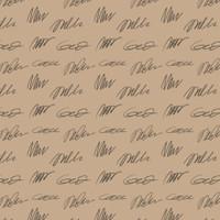 Kertas Kado Harvest / Wrapping Paper Brown Craft - Scratch
