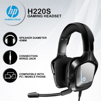 Headset Gaming HP H220S - Mobile / PC Headset With Single Jack