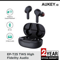 Aukey Earbuds EP-T25 True Wireless fidelity audio garansi 2 tahun