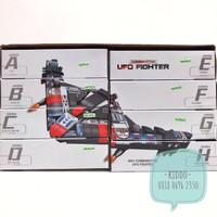 Lego pesawat ufo fighter - KN