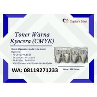 TONER WARNA MESIN FOTOCOPY KYOCERA FS C8520 TA 5882ci M6530cidn CMYK