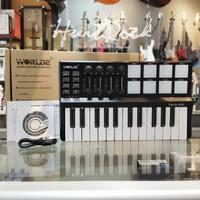Worlde Panda Mini USB Keyboard And Drum Pad Midi Controller