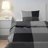 BRUNKRISSLA Quilt Cover Sarung Selimut Sarung Bantal Ikea