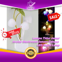 Lampu Tidur Jamur Avatar Mushroom Sensor Cahaya LED Night Lamp 0615