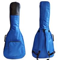 Promo Tas gitar akustik / Softcase gitar akustik jumbo Biru