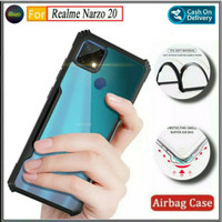 Case Realme Narzo 20 Soft Hard Tpu HD Transparan Casing Cover