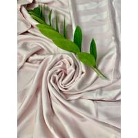 Sprei Tencel Sutra Organic - Baby Pink, 90x200