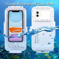 Puluz Diving Waterproof Case 45 Meter Underwater IPX8 iPhone 11