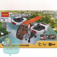 Lego architect 3 in 1 - double rotor drone - WNS