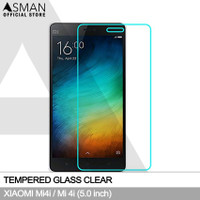 Tempered Glass Xiaomi Mi4i / Mi 4i (5.0) | Anti Gores Kaca - Bening
