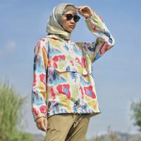 Jaket Olahraga Motif, Fitflo Activewear, Organic cotton, Raja Ampat