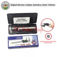 Jangka Sorong Sigmat Digital Vernier Caliper / Kaliper 150mm Stainless