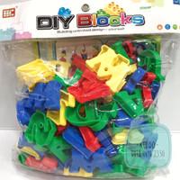 Mainan edukasi - block huruf alfabet ronche - US