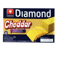Diamond Cheddar Cheese 180gr Keju Cedar Chese Diamon