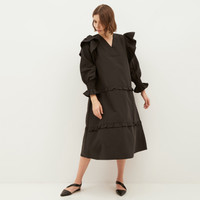 NONA Olive Dress Black - Nona x Yure Collection