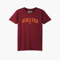 Athletica Official Shop - Arneez Maroon   T-Shirt Pria   Kaos Pria