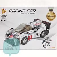 Lego sembo block 2 in 1 racing car jadi robot - GS2