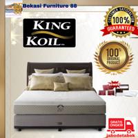 1 Set Kasur Springbed KING KOIL (Duke) Ukuran 160-180-200x200
