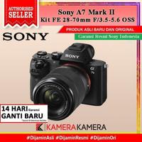 SONY ALPHA a7 Mark II KIT FE 28-70MM Kamera Mirrorless - RESMI