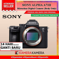 SONY ALPHA a7 Mark III / A7 Mark 3 Body Only Kamera Mirrorless - Resmi