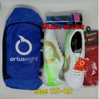 sepatu bola ortuseight catalyst cypher Paket Komplit - 39, Putih