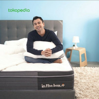 INTHEBOX PLUS kasur springbed 120x200 FULL Free Pillow
