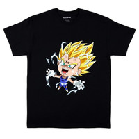 Kaos Baju Combed 30S Distro VEGETA ANGRY dragon polos custom indonesia
