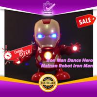 Iron Man Dance Hero Marvel Avengers - Mainan Robot Musik Joget 0639