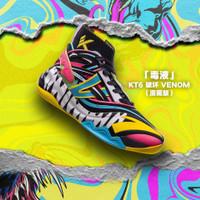 ANTA x MARVEL KT 6 DISRUPTIVE - Sepatu Basket Klay Thompson - Not Nike - BLACK YELLOW, 39