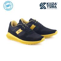 Sepatu Casual Pria Kuzatura NC KZS 615 - 39, Hitam Kombinasi
