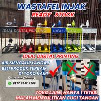 Wastafel washtafel / alat cuci tangan portable portabel injak pedal
