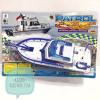 Mainan kapal - kapalan untuk di air - KBS