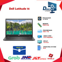 Laptop Dell Latitude 14 3410 i3 10110 RAM 8GB 1TB 14.0 WIN 10