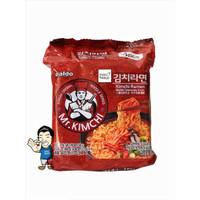 Paldo Mr Kimchi Ramen Korean Noodle- Mi Instan Korea 115 gr x 4 pc