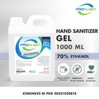 Hand Sanitizer GEL 70% Food Grade Antiseptic Antiseptik PROKLEEN 1L