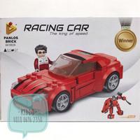 Lego sembo block 2 in 1 racing car jadi robot - GS3