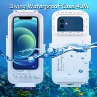 Puluz Diving Waterproof Case 45 Meter Underwater IPX8 iPhone 12