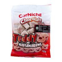 CORNICHE Teddy Marshmallows Chocolate 70g Marshmalow Tedy rasa Cokelat