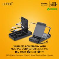 UNEED 10000mAh Powerbank Wireless 10W Fast Charging PD QC 3.0 - UPB561