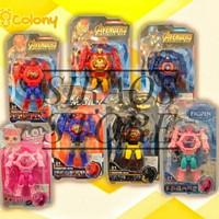 Jam tangan anak robot karakter proyektor/mainan anak