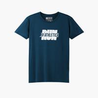 Athletica Official Shop - Silence Navy   T-Shirt Pria   Kaos Pria