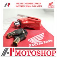 HONDA DISC LOCK GEMBOK CAKRAM Honda Original